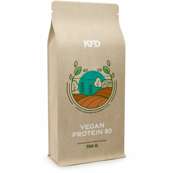 Растителен Протеин Vegan Protein 80 KFD 700 грама