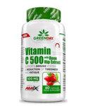 Витамин C + Екстракт от Шипки Vitamin Cwith Rose Hips AMIX GreenDay 60 капсули
