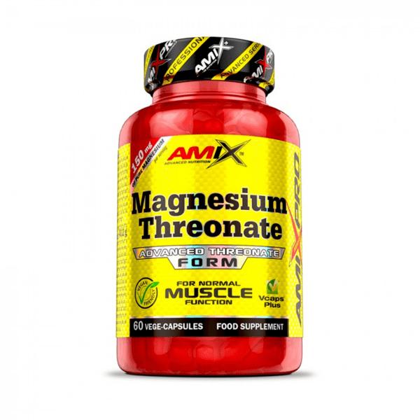 Магнезиев Треонат Magnesium Threonate Amix 60 капсули