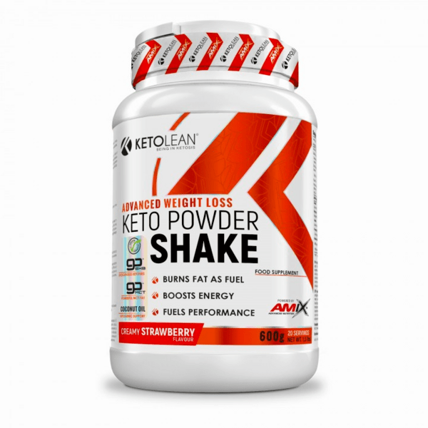 Суроватъчен Протеин Изолат за Кето Диета Keto Powder Shake KetoLean® Amix 600 грама