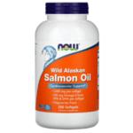Омега-3 Рибено Масло от Дива Сьомга Wild Alaskan Salmon Oil Now Foods 200 дражета