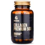 Хидролизирана Колаген с Витамин C Collagen Premium 500 Grassberg 60 капсули-Copy