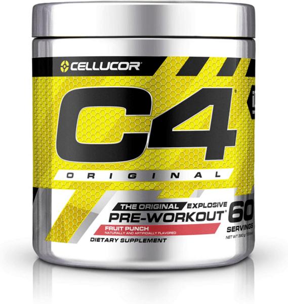 C4 Original Cellucor 390 грама 60 дози