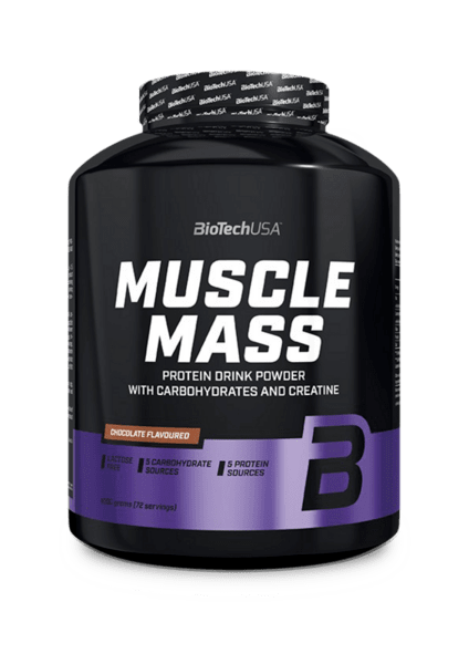 Гейнър за Мускулна Маса Muscle Mass BioTech USA 4000 грама