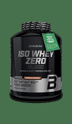 Суроватъчен Протеин Изолат Iso Whey Zero Black BioTech USA 2270 грама