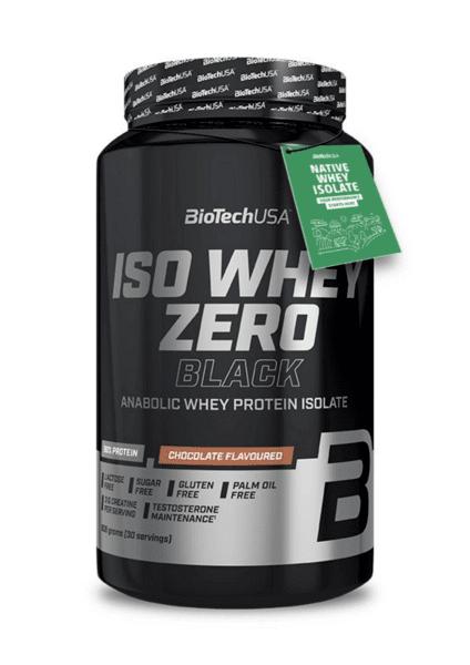 Суроватъчен Протеин Изолат Iso Whey Zero Black BioTech USA 908 грама
