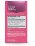 Пробиотик за Жени Women's Vitality Spore Probiotic Probiogen 60 веган капсули