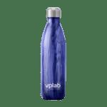 Метална Бутилка за Вода Metal Water Bottle Blue Wood VPlab 500ml