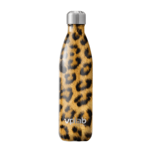 Метална Бутилка за Вода Metal Water Bottle Leopard VPlab 500ml