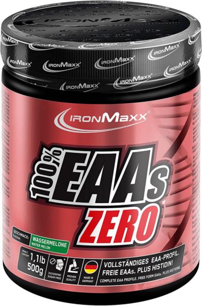 Есенциални Аминокиселини EAA ZERO IronMaxx 500 грама 33 дози