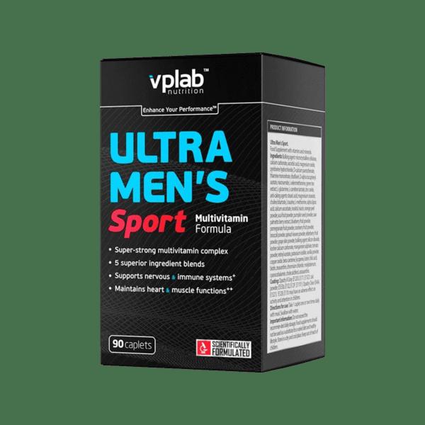 Витамини и Минерали за Мъже Ultra Men's Sport Multivitamin VPlab 90 капсули