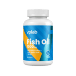 Омега-3 Рибено Масло Fish Oil 1000mg VPlab 120 дражета