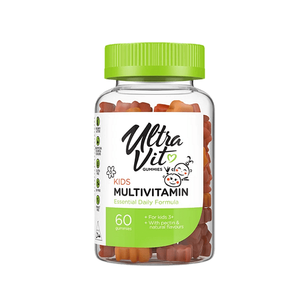 Мултивитамини за Деца UltraVit Gummies Kid's Multivitamin VPlab 60 желирани дражета