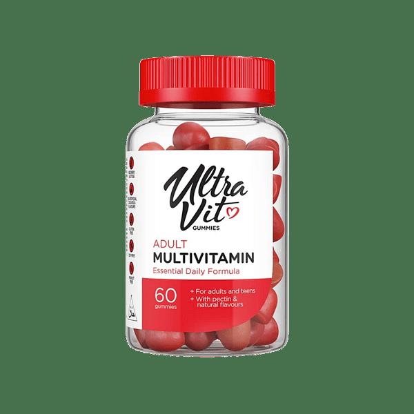 Мултивитамини за Възрастни UltraVit Gummies Adult Multivitamin VPlab 60 желирани дражета
