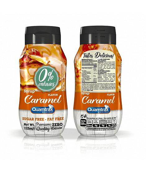 Карамел Нискокалоричен Топинг Caramel Quamtrax Nutrition 330ml