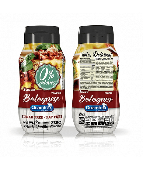 Болонезе Нискокалоричен Сос Bolognese Quamtrax Nutrition 330ml
