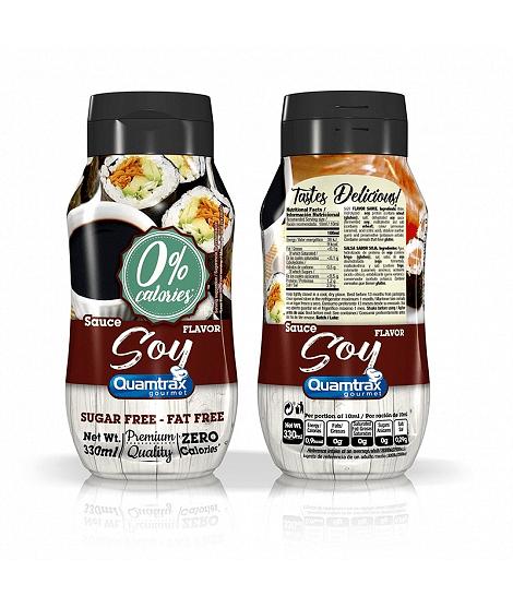 Соев Сос Нискокалоричен Soy Quamtrax Nutrition 330ml