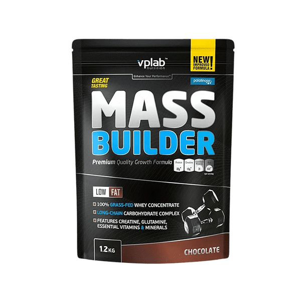 Гейнър за Мускулна Маса Mass Builder VPlab 1200 грама