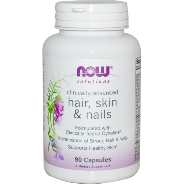 Hair, Skin & Nails NOW Foods 90 капсули