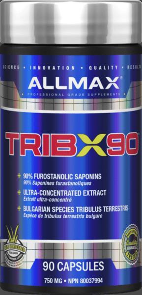 Трибулус Терестрис Tribx90 AllMax Nutrition 90 капсули