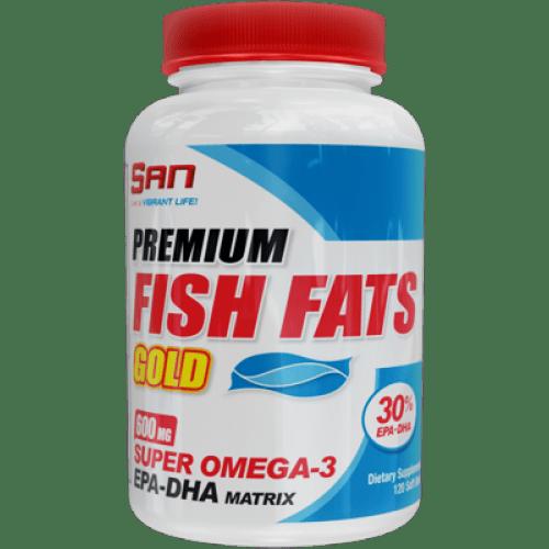 Премиум Рибено Масло Fish Fats Gold SAN 120 дражета
