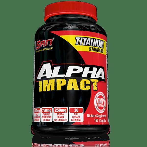 Alpha Impact SAN 120 капсули