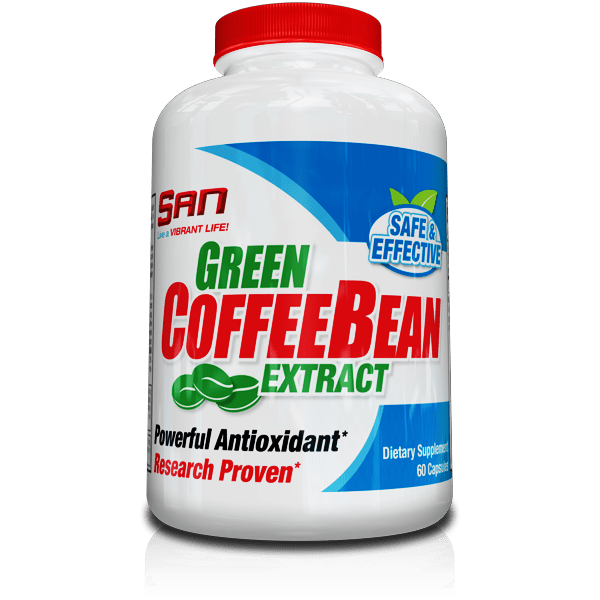 Green Coffee Bean (Зелено Кафе) SAN 60 капсули