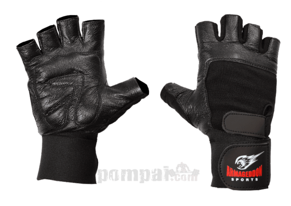 Фитнес Ръкавици с Накитници Black Armageddon Sports