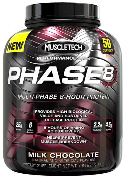 Phase 8 MuscleTech 2100 грама