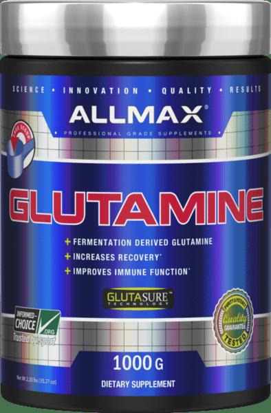 L - Glutamine AllMax Nutrition 1000 грама