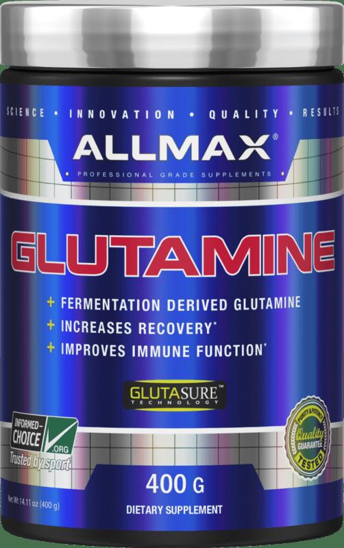 L - Glutamine AllMax Nutrition 400 грама
