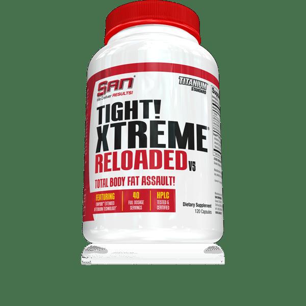 Термогенен Фет Бърнър Tight Xtreme Reloaded SAN 120 капсули