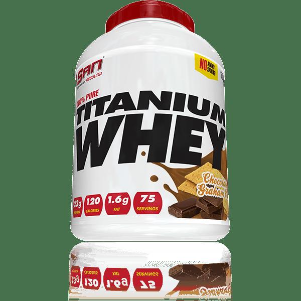 100% Pure Titanium Whey SAN 2257 грама