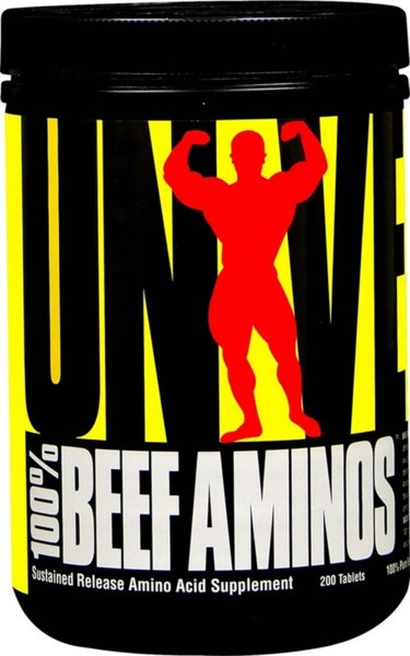 Beef Aminos Universal Nutrition 200 таблетки