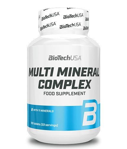 Мултиминерали Multi Mineral Complex BioTech USA 100 таблетки
