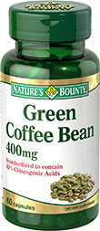 Green Coffee Bean (Зелено Кафе) Natures Bounty 60 капсули