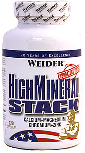 High Mineral Stack Weider 120 капсули