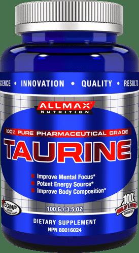 Taurine AllMax Nutrition 100 грама