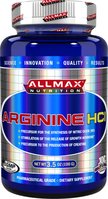 Arginine HCL AllMax Nutrition 100 грама