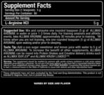 Arginine HCL AllMax Nutrition 400 грама