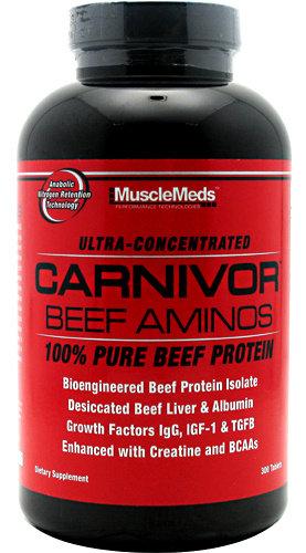 Carnivor Beef Aminos MuscleMeds 300 таблетки