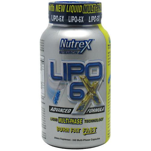 Lipo 6X Nutrex 240 капсули