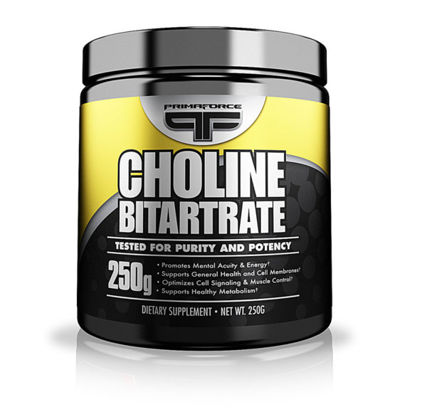 Choline Bitartrate PrimaForce 250 грама