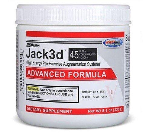 Jack3d Advanced USP Labs 230 грама 45 дози