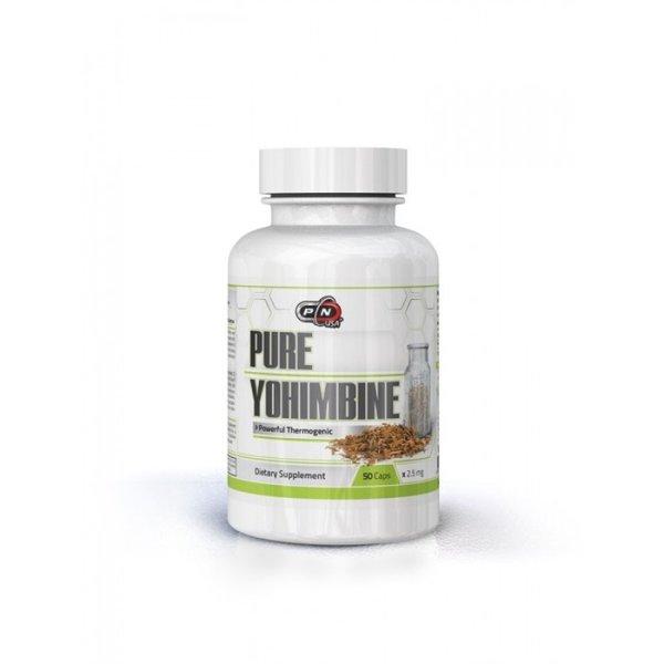 Чист Йохимбин Pure Nutrition 50 капсули