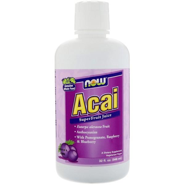 Acai Liquid NOW Foods 946 ml
