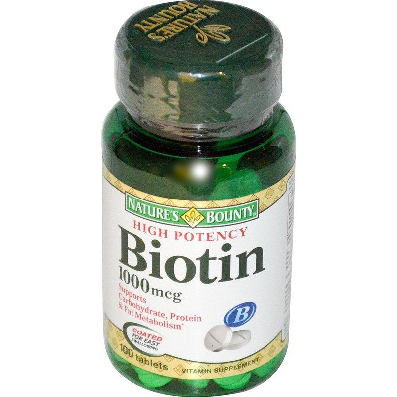 Biotin 1000mcg Natures Bounty 100 таблетки