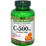 Vitamin C-500 with Rose Hips Natures Bounty 90 таблетки
