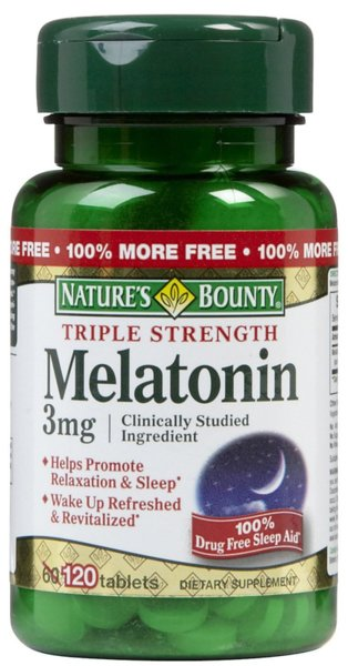 Melatonin 3mg Natures Bounty 120 таблетки