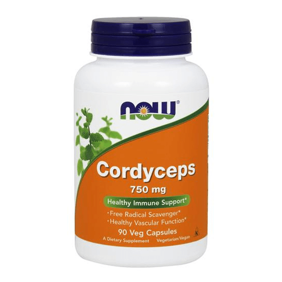 Cordyceps NOW Foods 90 капсули